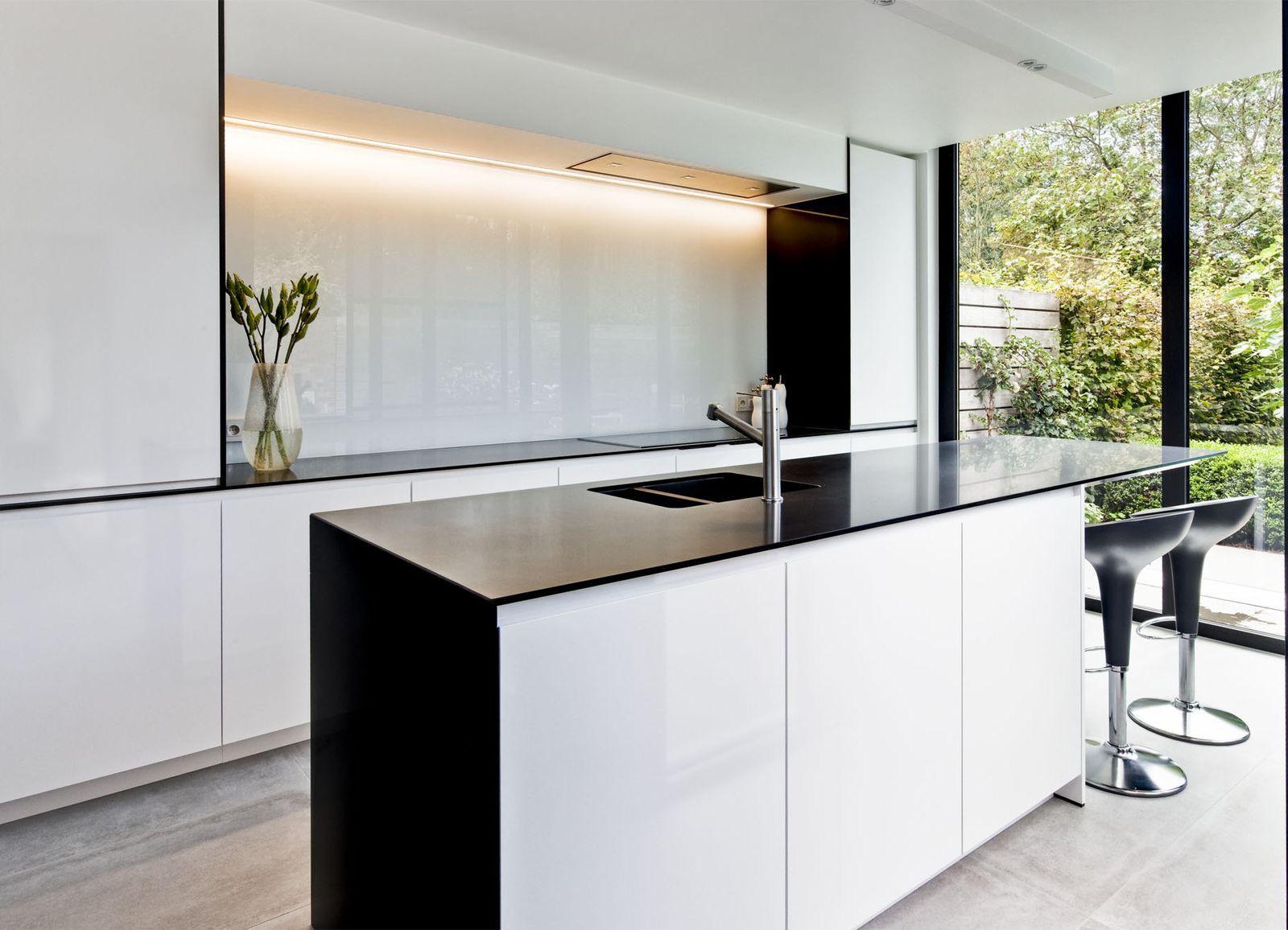 Moderne minimalistische interieurs