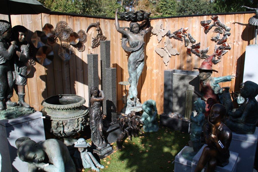 Tuinbeelden Brons Tuin : Bronzen beelden het grootste aanbod van belgië!